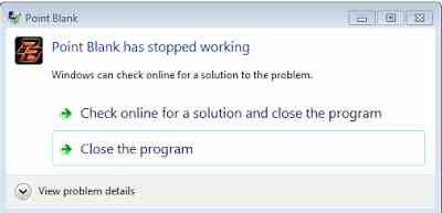 cara mengatasi stopped working