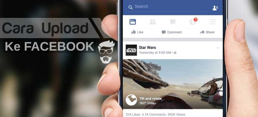 Cara Upload Video ke Facebook di Android & Komputer / Laptop