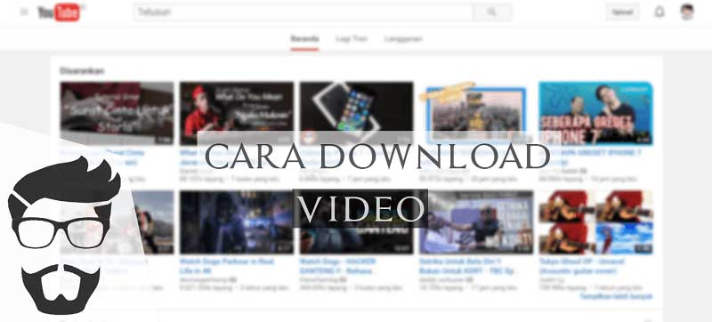 cara download video tanpa aplikasi