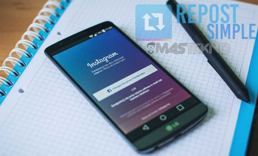 Cara Mudah Repost Foto dan Video Instagram di HP Android