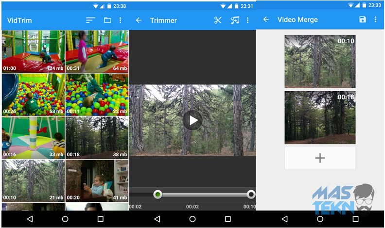 aplikasi pemotong cutting video di android terbaik