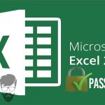 cara password file exel