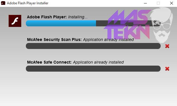 cara install adobe flash player di pc laptop windows linux mac