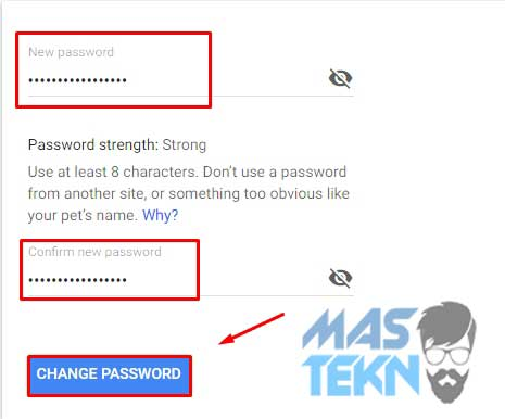 Cara Mengganti Password Akun Gmail di HP dan PC