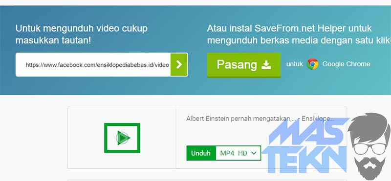 cara download video di facebok2