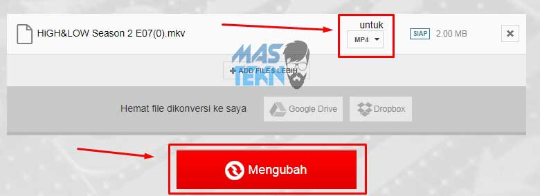 cara convert video format mkv ke mp4 tanpa aplikasi