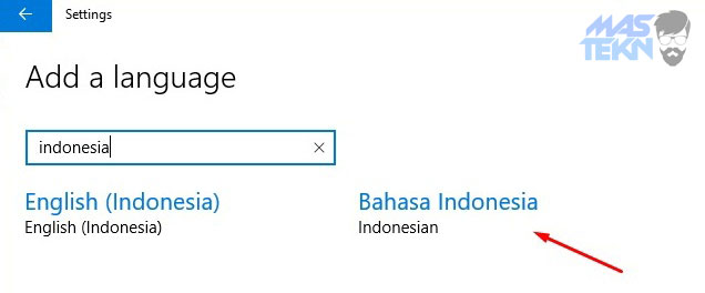 cara mengganti bahasa di windows 10