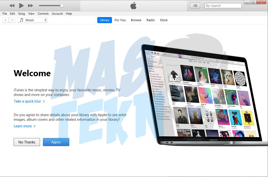 cara menginstall itunes di windows