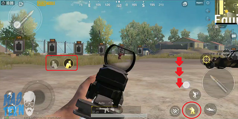 tips mengurangi recoil senjata game pubg mobile