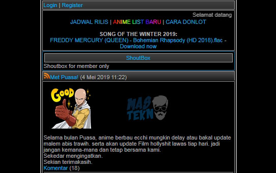 tempat download anime sub indonesia lengkap