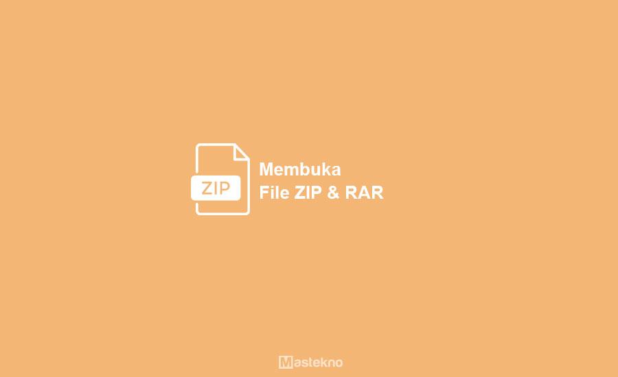 Cara Membuka File RAR ZIP di Android