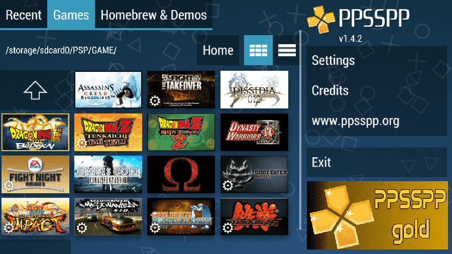 aplikasi ppsspp gold android